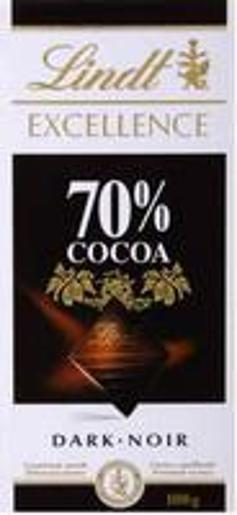 EXCEL 70% DARK CHOCOLATE 100GM