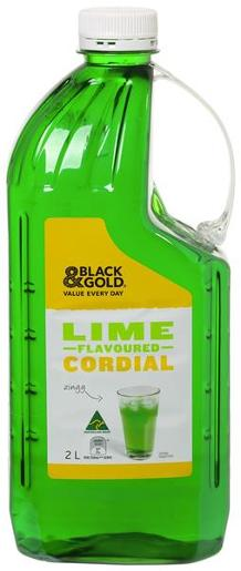 CORDIAL LIME 2L