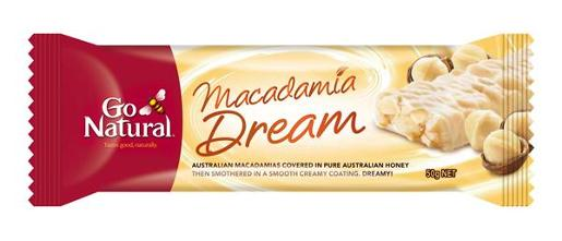 BAR MACADAMIA DREAM 50GM