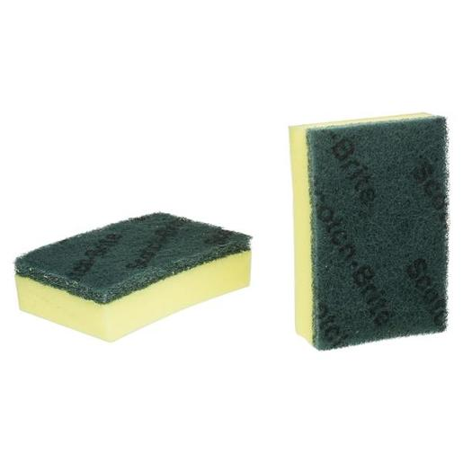 HEAVY DUTY THICK SCOURERS 2PK