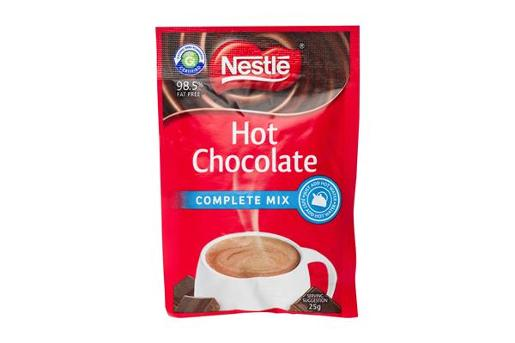 COMPLETE MIX HOT CHOCOLATE SACHET 100 PACK 25GM