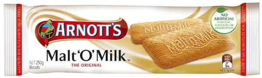 BISCUITS MALT-O-MILK 250GM