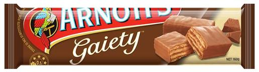 BISCUITS CHOCOLATE GAIETY 160GM