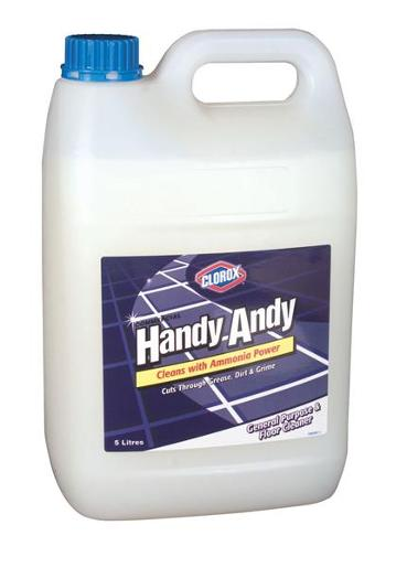 AMMONIATED FLOOR AND GENERAL PURPOSE CLEANER WHITE 5L