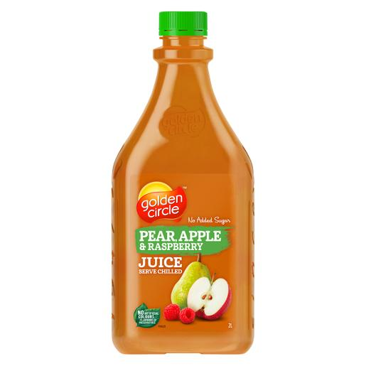 PEAR APPLE & RASPBERRY FRUIT JUICE 2L
