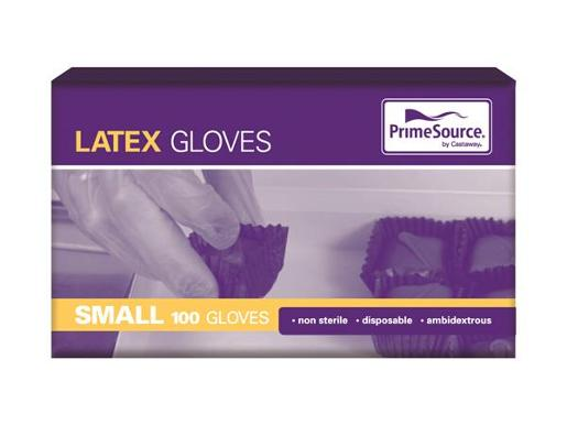 GLOVES LATEX SMALL 100S