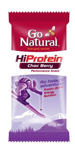 HI PROTEIN BAR CHOCOLATE BERRY 80GM