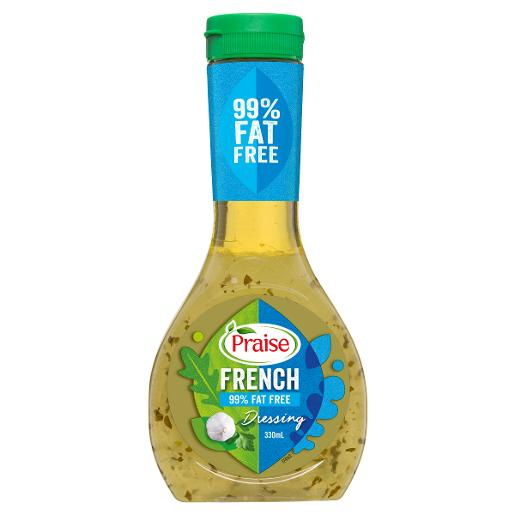 99.9% FAT FREE FRENCH DRESSING 330ML