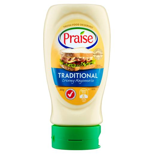 TRADITIONAL MAYONNAISE SQUEEZE 365GM