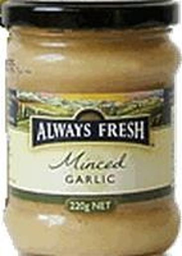 MINCED GARLIC 220GM