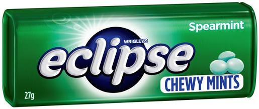 ECLIPSE SPEARMINT CHEWY MINTS 27GM