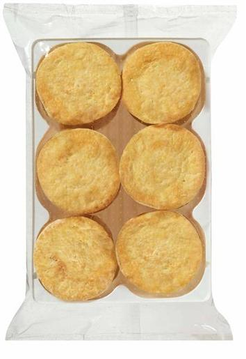 PARTY MEAT PIES 72 PACK 3KG