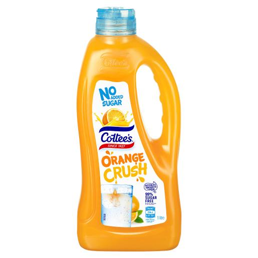 ORANGE NO ADDED SUGAR CORDIAL 1L