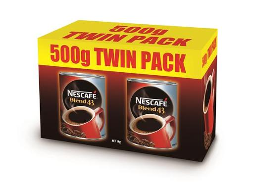 BLEND 43 COFFEE TWIN PACK 1KG