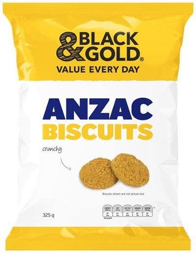ANZAC BISCUITS 325GM