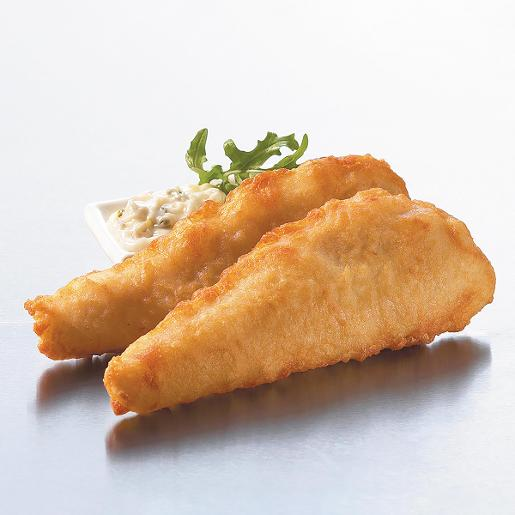 CAPTAIN'S CRUNCH CRISPY BATTERED FISH PORTIONS 140GM