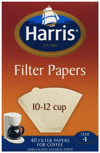 10-12 CUP FILTERS 40S