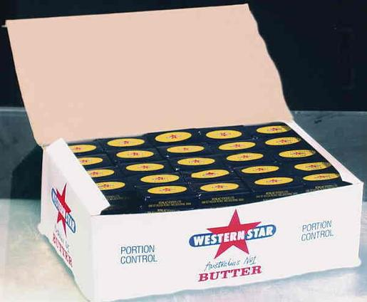 ORIGINAL BUTTER PORTIONS 200X7GM