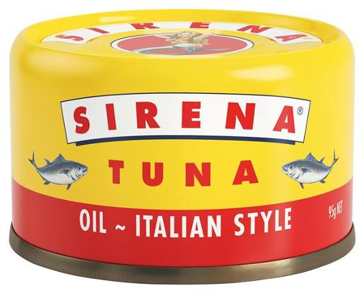 TUNA IN OIL ITALIAN STYLE 95GM