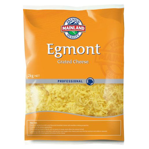 EGMONT CHEESE GRATED 2KG