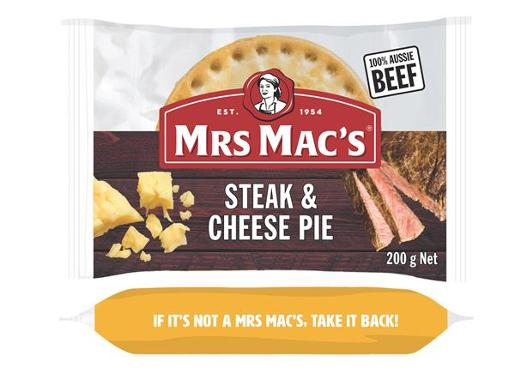 STEAK & CHEESE PIE 200GM