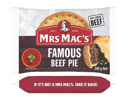FAMOUS BEEF PIE 200GM