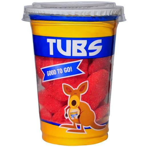 TUBS STRAWBERRY CLOUDS 130GM