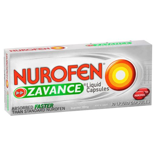 ZAVANCE LIQUID CAPSULES 10S