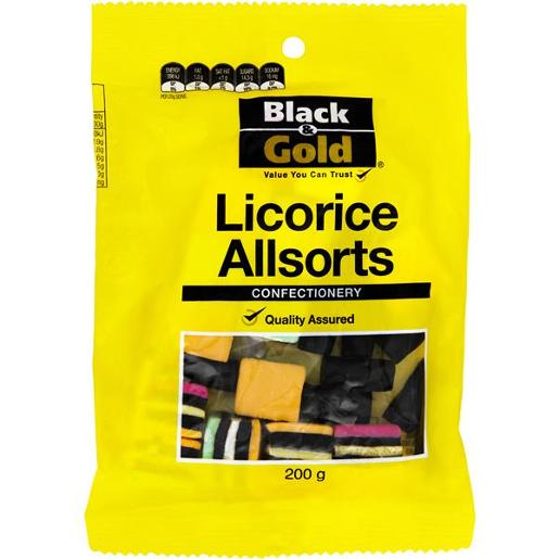 LICORICE ALLSORTS 200GM