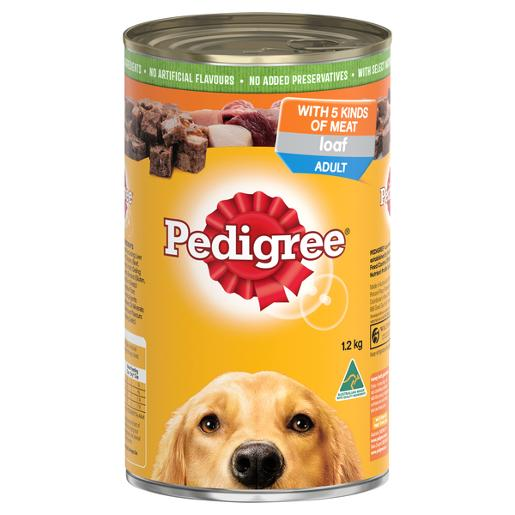 FIVE KINDS OF MEAT DOG FOOD 1.2KG