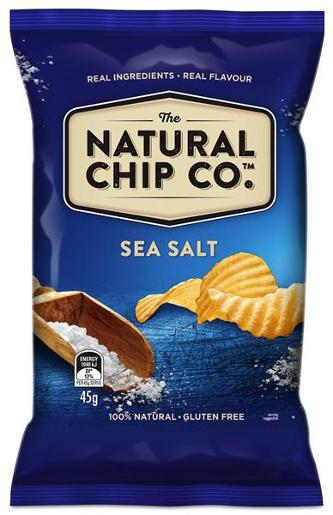 SEA SALT POTATO CHIPS 45GM