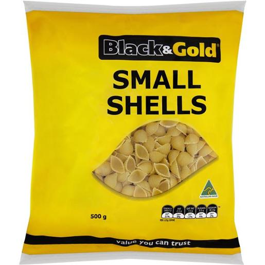 SMALL SHELLS 500GM