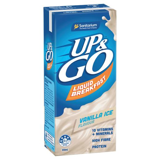 VANILLA ICE  UP&GO LIQUID BREAKFAST 350ML