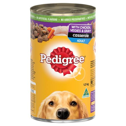 CHICKEN CASSEROLE DOG FOOD 1.2KG