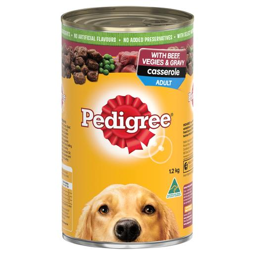BEEF CASSEROLE DOG FOOD 1.2KG