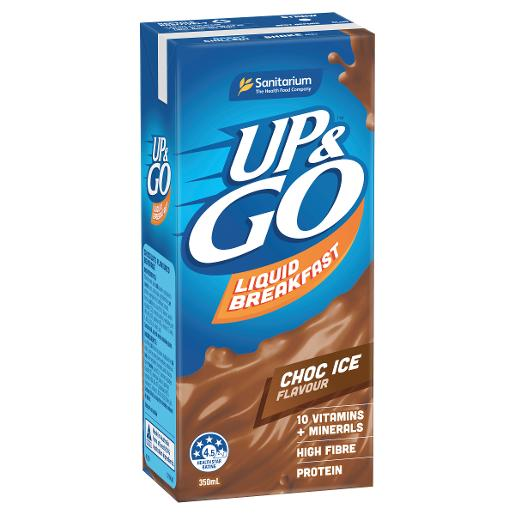 CHOCOLATE ICE UP&GO LIQUID BREAKFAST 350ML