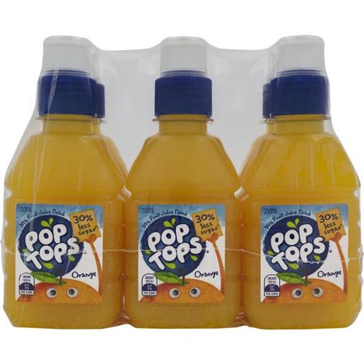ORANGE JUICE 6 PACK 250ML