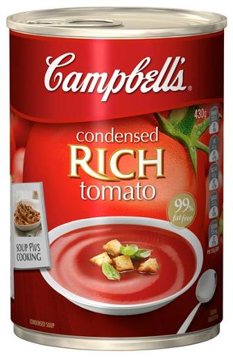 RICH TOMATO CONDENSED SOUP 430GM