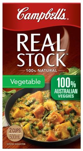 REAL STOCK VEGETABLE 500ML