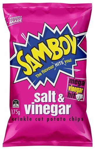 SALT AND VINEGAR POTATO CHIPS 175GM