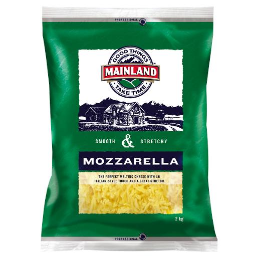 SHREDDED MOZZARELLA CHEESE 2KG