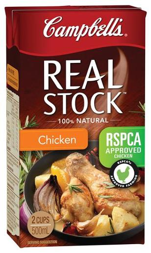 REAL STOCK CHICKEN 500ML