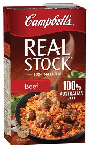REAL STOCK BEEF 1L