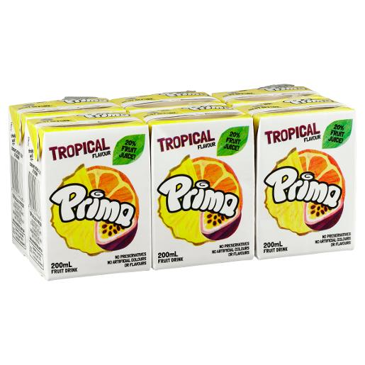 TROPICAL FRUIT DRINK 6x200ml