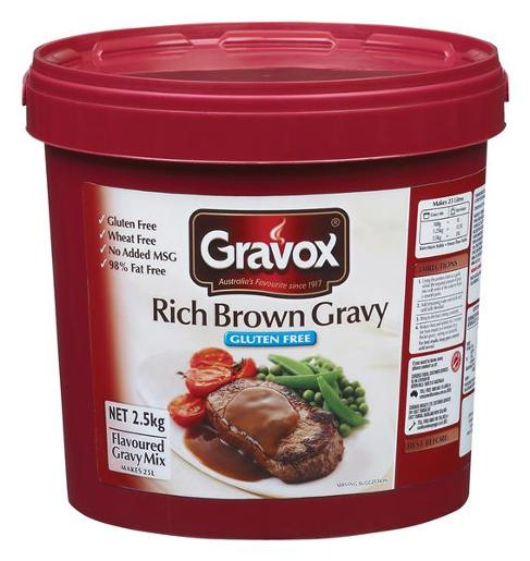 GRAVY RICH BROWN GLUTEN FREE 2.5KG