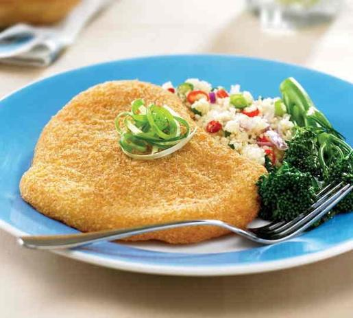 CHICKEN SCHNITZEL BREAST 210GM