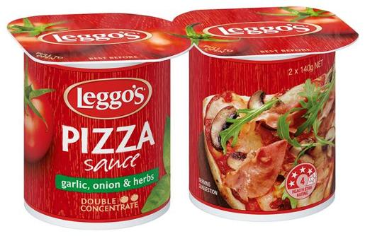 LEGGOS SCE PIZZA       2X140GM