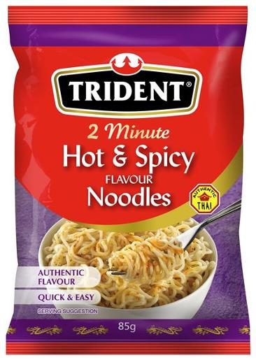 HOT AND SPICY PACKET NOODLES 85GM