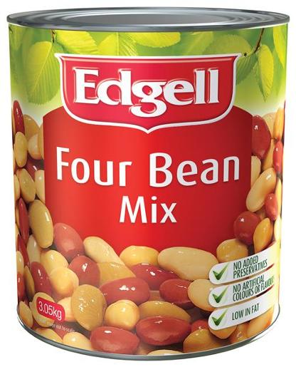 FOUR BEAN MIX 3.05KG